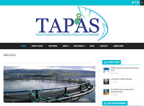 Website of the TAPAS project now available | IMDEA Water