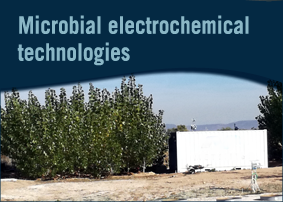 Microbial electrochemical technologies