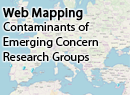Web Mapping Contaminants of Emerging Concern