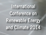 International Conference on Renewable Energy and Climate Change 2014