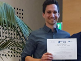 Mario Jiménez Conde wins the prize for the best poster in WETPOL 2019
