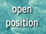 Open position: Post-doctoral researcher. Research line: Biological contamination of the water